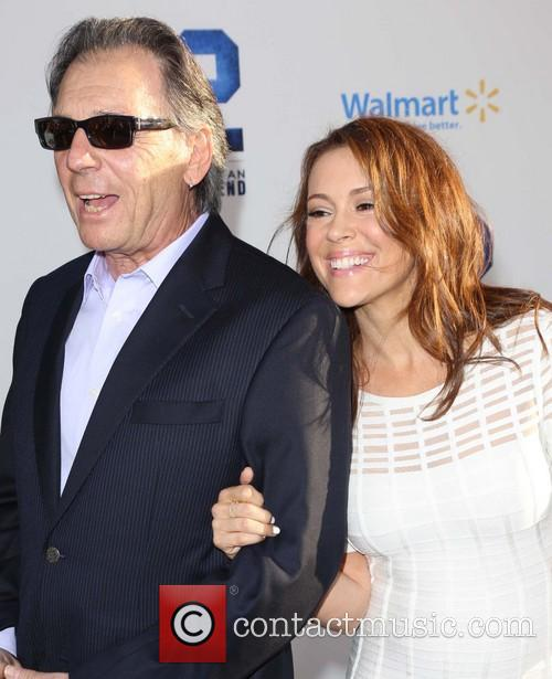 Alyssa Milano and Thomas M. Milano 5
