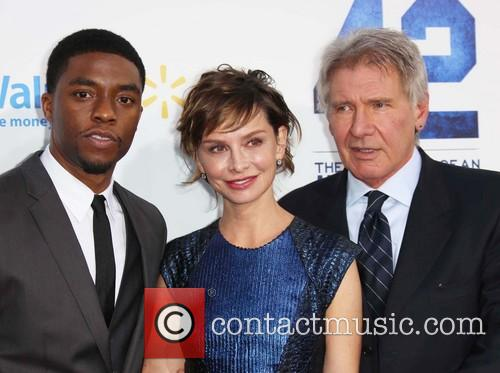 Chadwick Boseman, Calista Flockhart and Harrison Ford 8