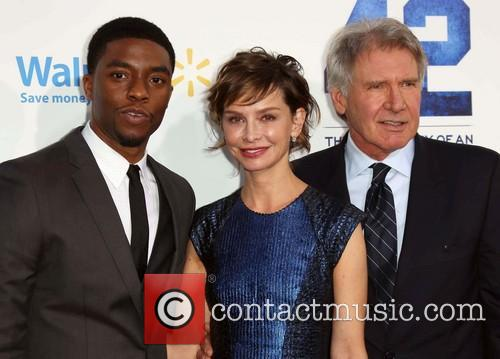 Chadwick Boseman, Calista Flockhart and Harrison Ford 10