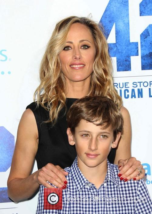 Kim Raver and Son 4