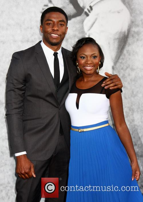 Chadwick Boseman and Naturi Naughton