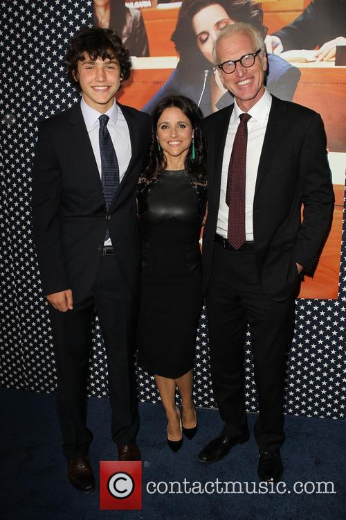 Charles Hall, Julia Louis-dreyfus and Brad Hall 2