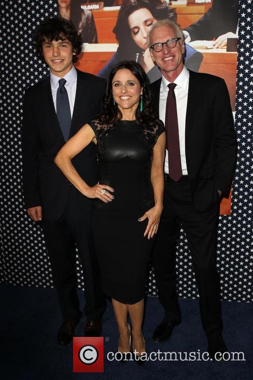 Charles Hall, Julia Louis-dreyfus and Brad Hall 1