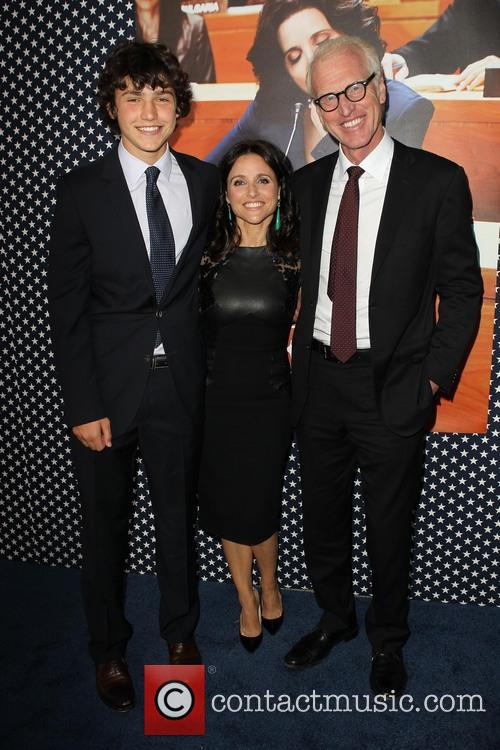 Charles Hall, Julia Louis-dreyfus and Brad Hall 4