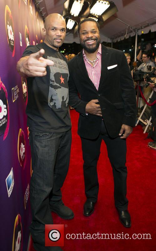 Dmc and Malcome Jamal Warner 2
