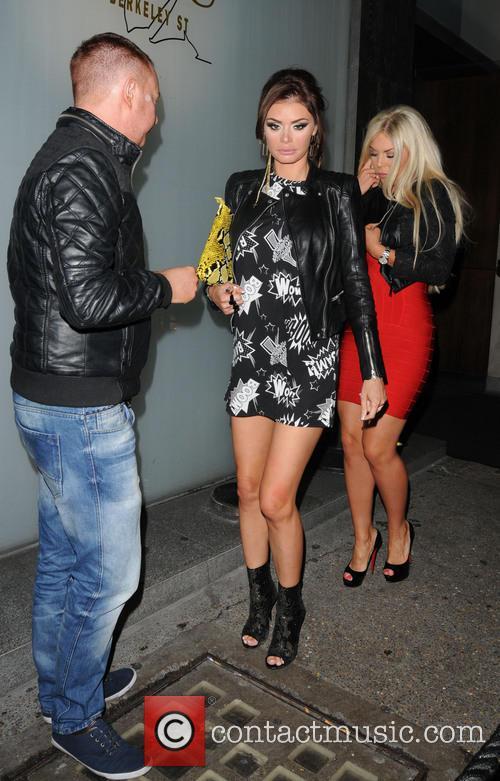 frankie essex chloe sims celebrities at nobu berkeley 3596904