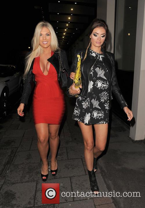 Frankie Essex and Chloe Sims 12