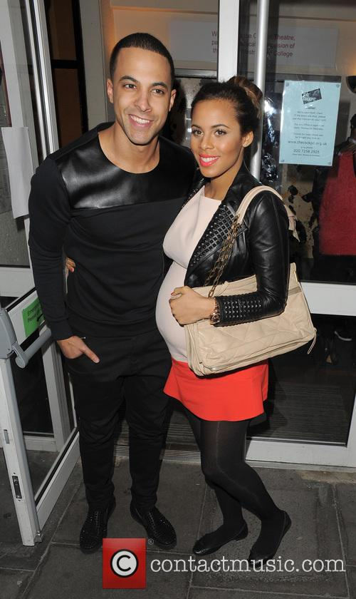Marvin Humes and Rochelle Humes 6