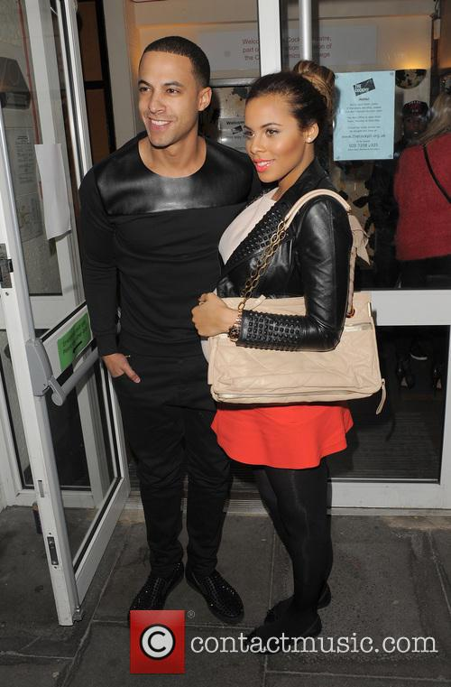 Marvin Humes and Rochelle Humes 8
