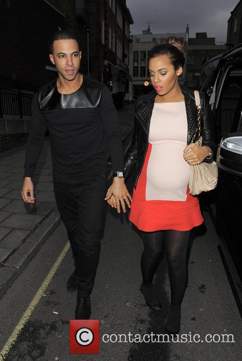 Marvin Humes and Rochelle Humes 9