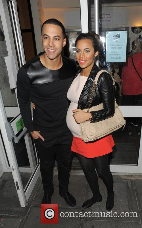 Marvin Humes and Rochelle Humes 12