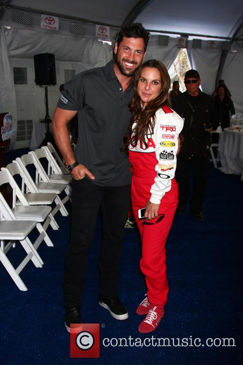 Maksim Chmerkovskiy and Kate Del Castillo 7