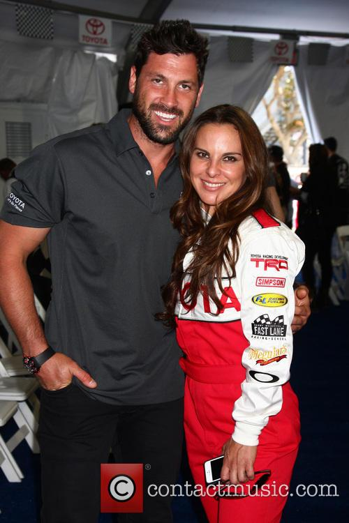 Maksim Chmerkovskiy and Kate Del Castillo 8