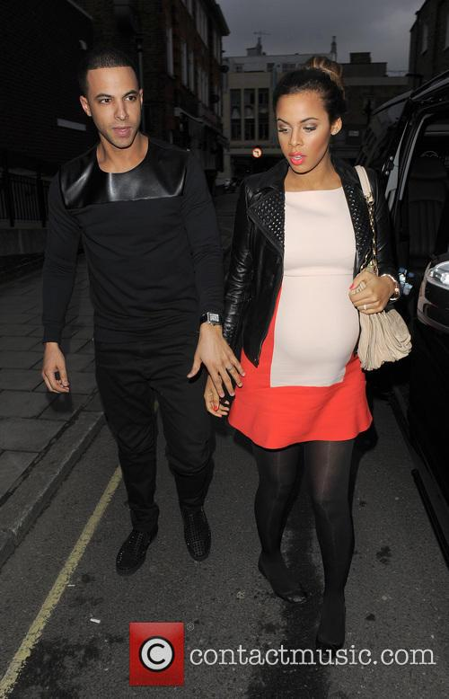 Marvin Humes and Rochelle Humes 13