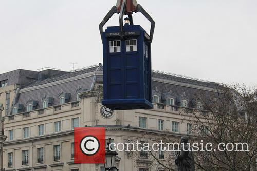 Doctor Who, TARDIS, Trafalgar Square