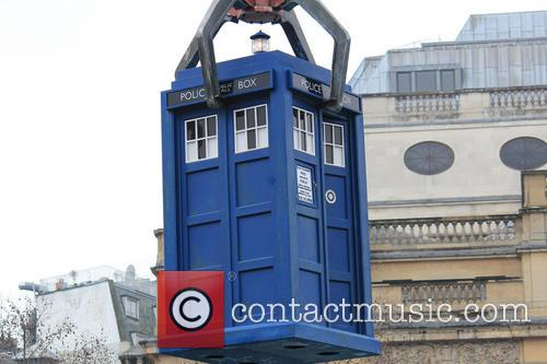 Doctor Who, TARDIS, Trafalgar Square