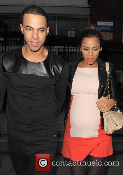 Marvin Humes and Rochelle Humes 14