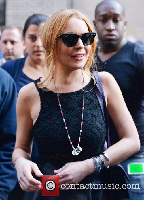 Lindsay Lohan Departure
