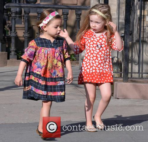 Sarah Jessica Parker's daughters, Tabitha and Marion are...