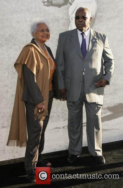 Hank Aaron and Wife 1