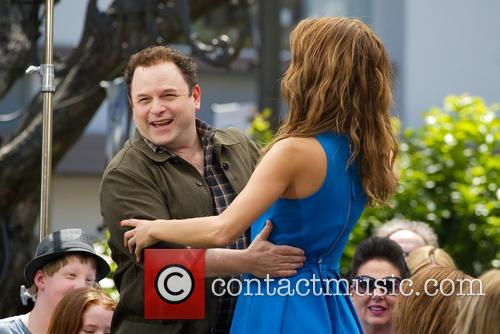 Jason Alexander and Maria Menounos 2
