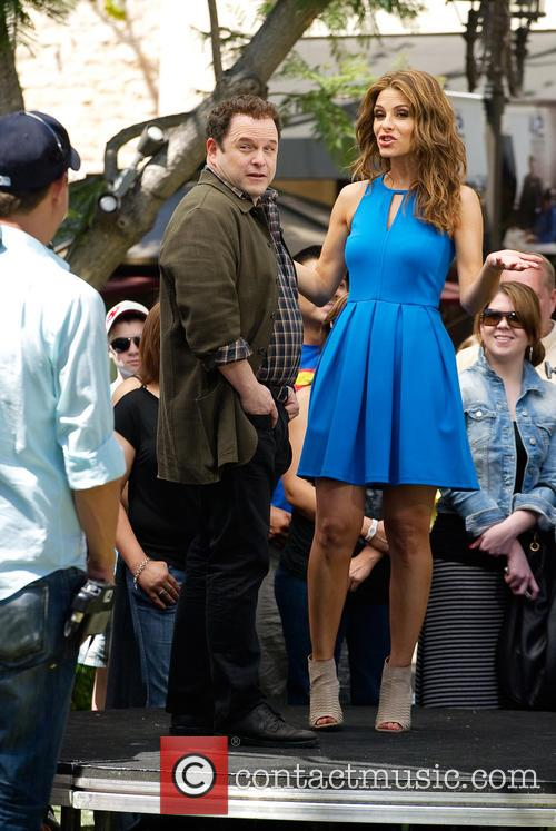 Jason Alexander and Maria Menounos 8