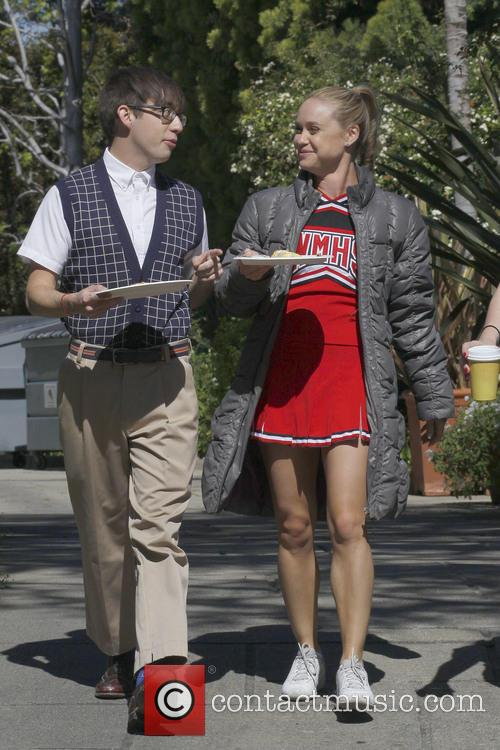 Kevin Mchale and Becca Tobin 7