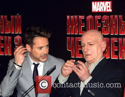 Ben Kingsley and Robert Downey Jr 2