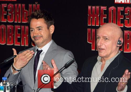 Ben Kingsley and Robert Downey Jr 3