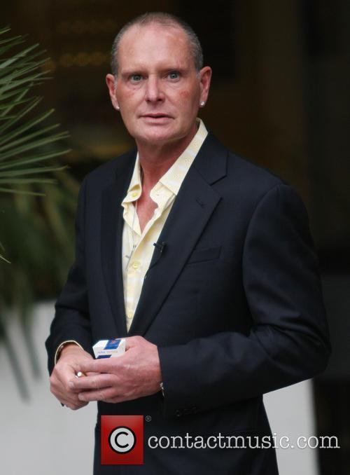 Paul Gascoigne at the ITV Studios