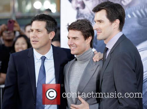 Dylan Clark, Tom Cruise and Joseph Kosinski 2