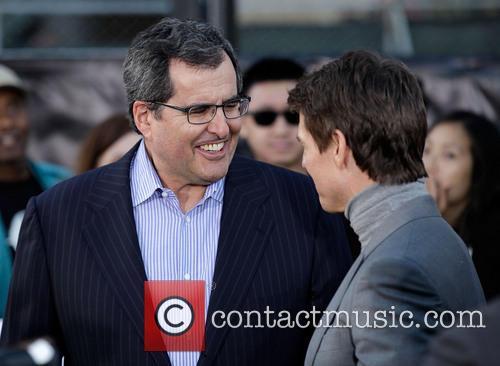 Peter Chernin and Tom Cruise 3