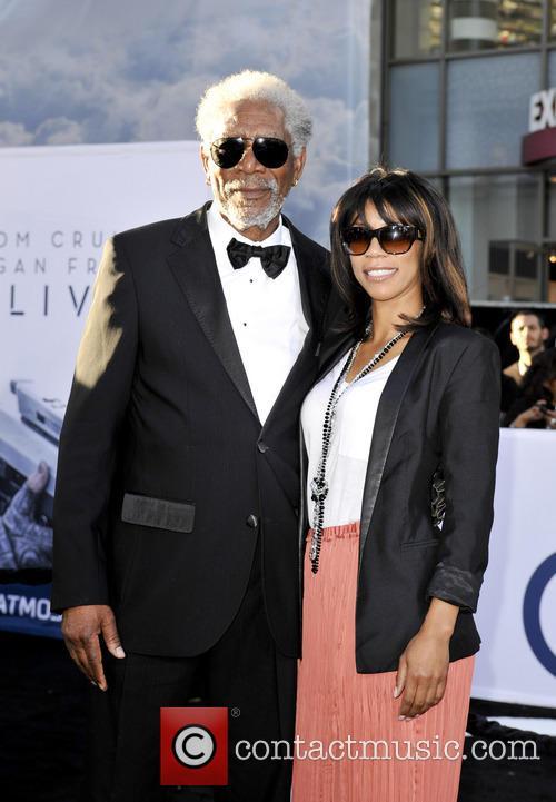 Morgan Freeman, daughter Morgana