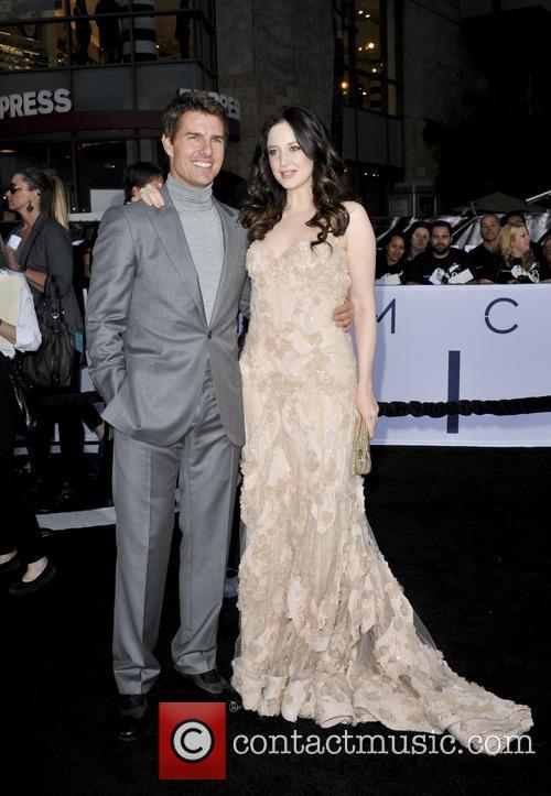 Tom Cruise and Andrea Riseboraugh 1