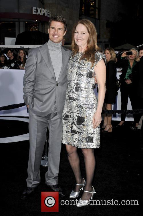 tom cruise melissa leo film premiere of oblivion 3600223