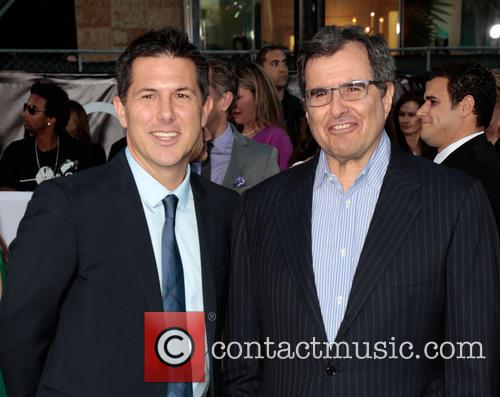Clark and Peter Chernin 2