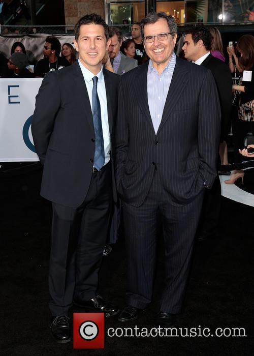 Clark and Peter Chernin 1