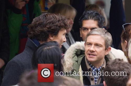 Benedict Cumberbatch and Martin Freeman 2