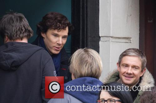 Benedict Cumberbatch and Martin Freeman 7