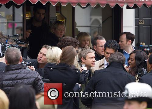 Benedict Cumberbatch and Martin Freeman 4