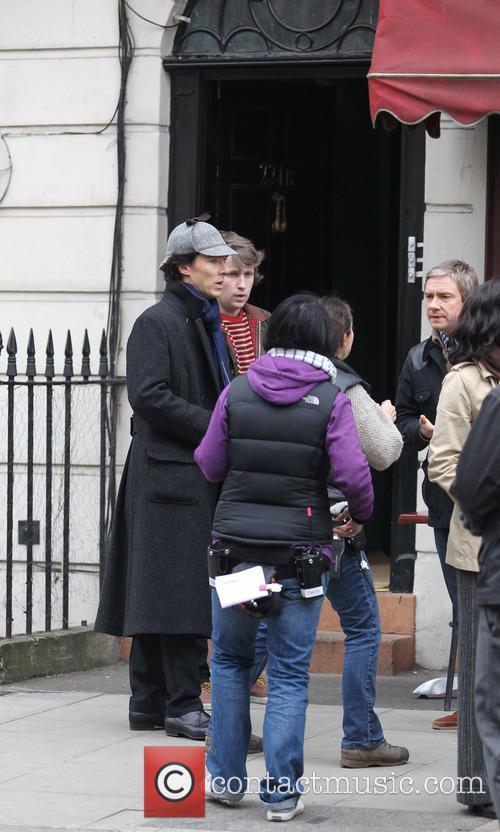 Benedict Cumberbatch and Martin Freeman 5