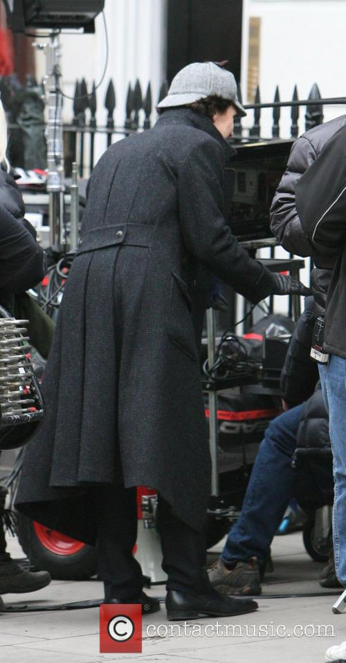 benedict cumberbatch sherlock filming on location in 3598795