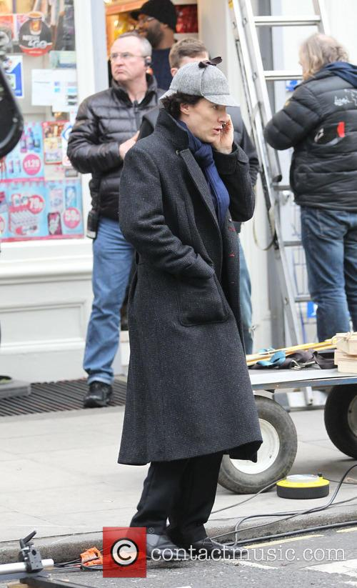 benedict cumberbatch sherlock filming on location in 3598808