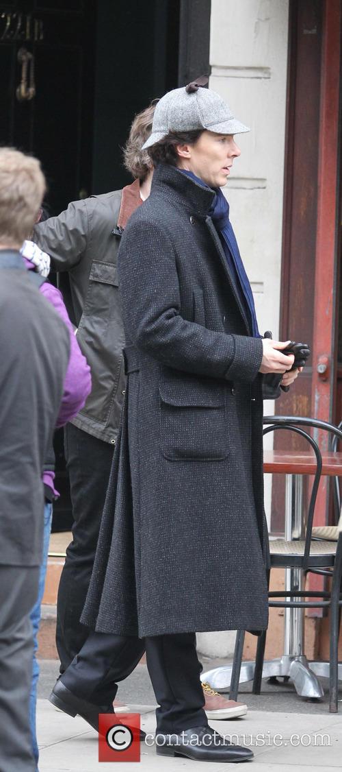 benedict cumberbatch sherlock filming on location in 3598809