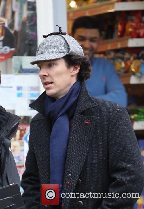 benedict cumberbatch sherlock filming on location in 3598812