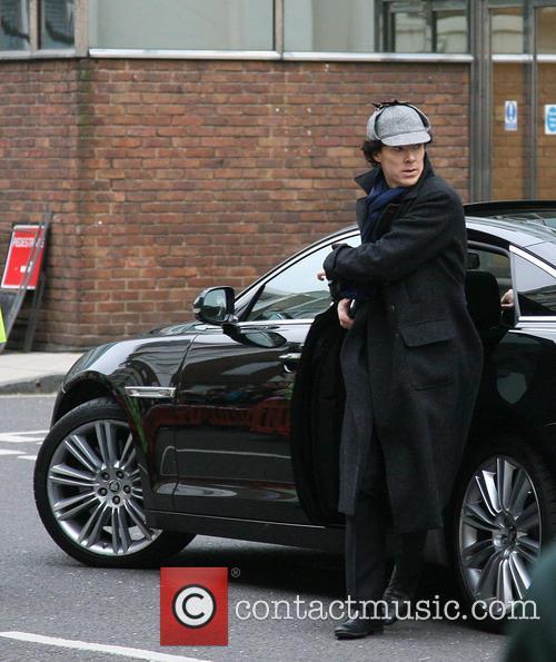 'Sherlock' filming on location in Baker Street