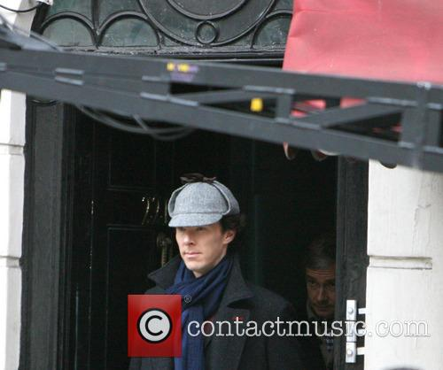 'Sherlock' filming on location in Baker Street