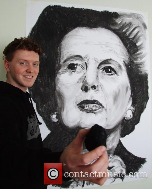Margaret Thatcher and Nathan Wyburn 1