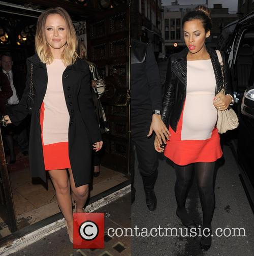 Who, Kimberley Walsh and Rochelle Humes 1