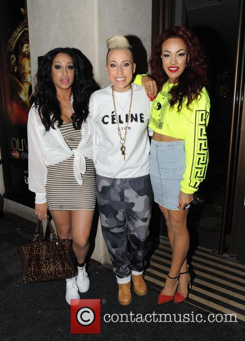 Alexandra Buggs, Courtney Rumbold, Karis Anderson and Stooshe 4